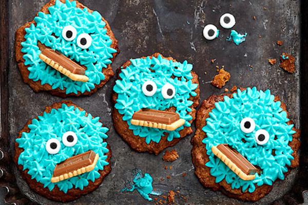 Krümelmonster-Cookies